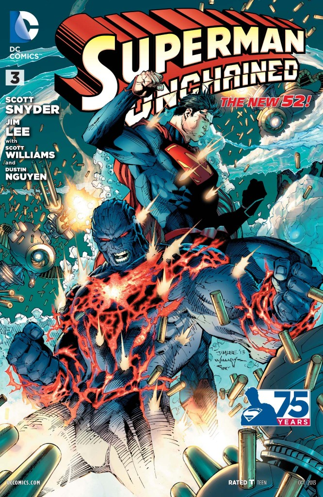 cover of superman unchained 3