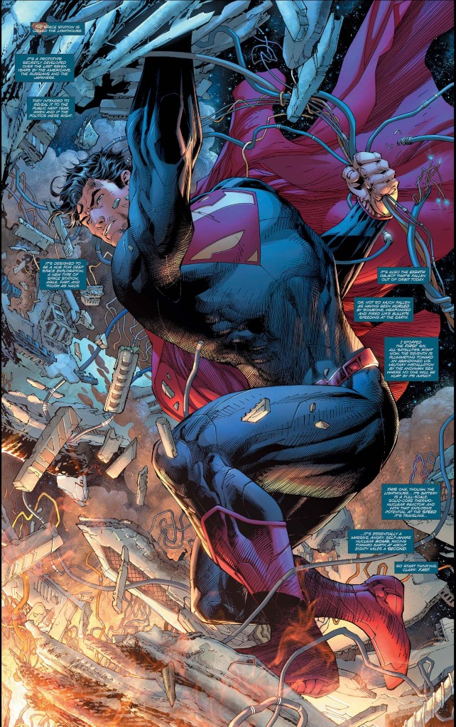 Superman foldout from Unchained 1