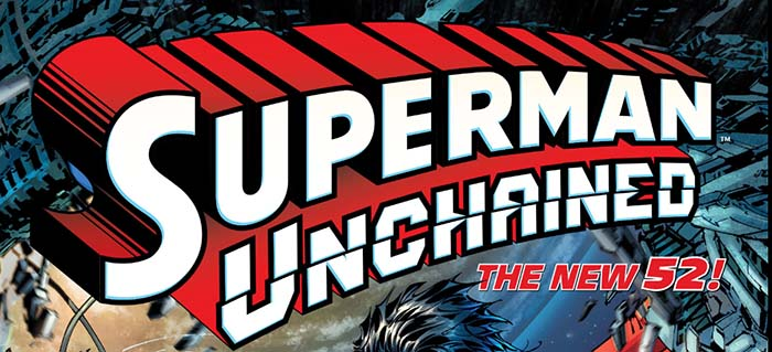 Superman Unchained Title