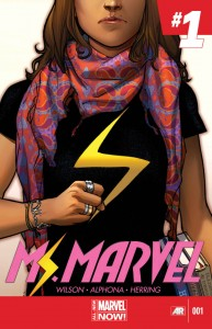 cover of Ms. Marvel #1