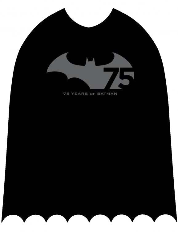 cape giveaway for Batman Day