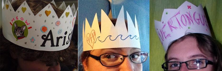 Crowns L-R @ephemiika / @traceYevidence / @EiTHELEEN