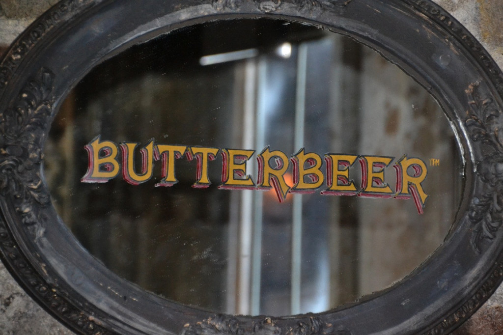 harry potter food, butterbeer mirror