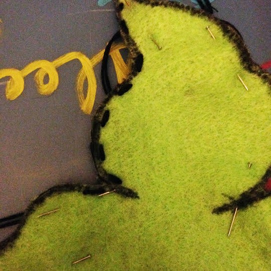 Oogie Running Stitch