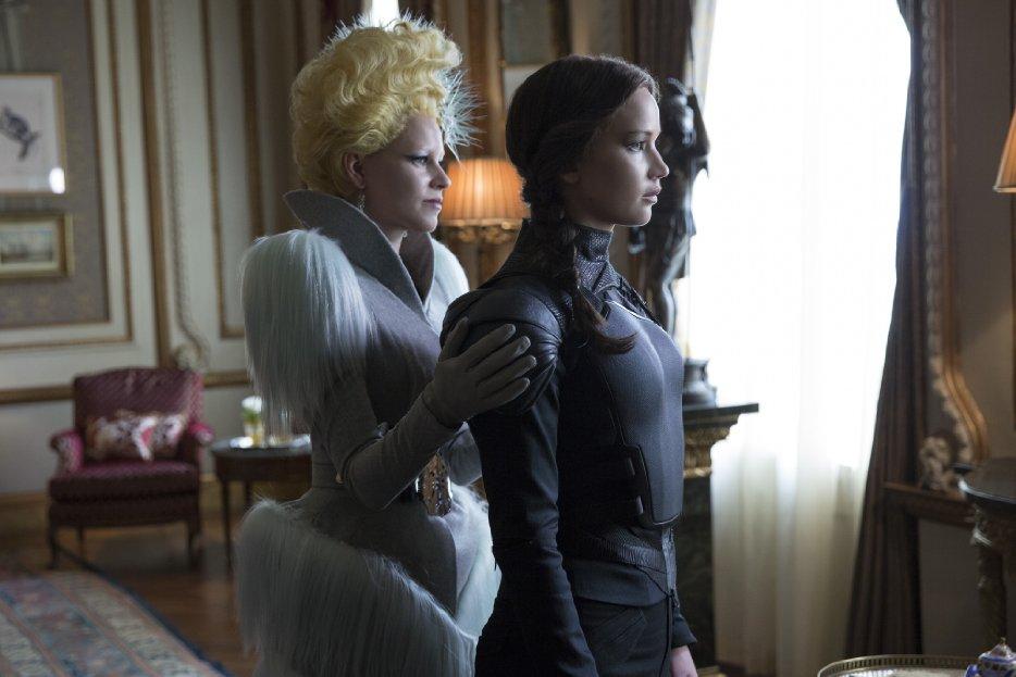 Hunger Games Mockingjay, Katniss with Effie