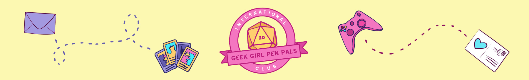 Geek Girl Pen Pals