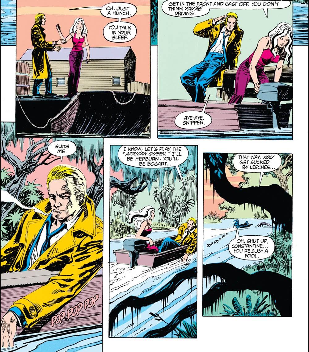 panel from Hellblazer