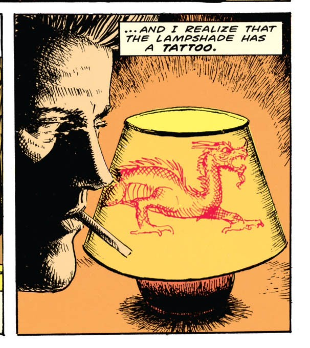 panel from Going For It (Hellblazer #3)