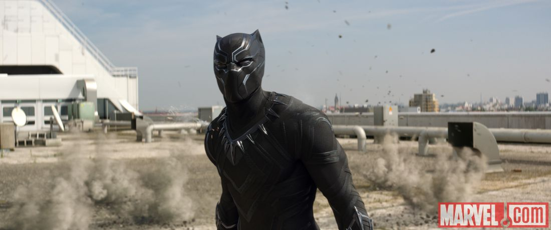 T'Challa as Black Panther