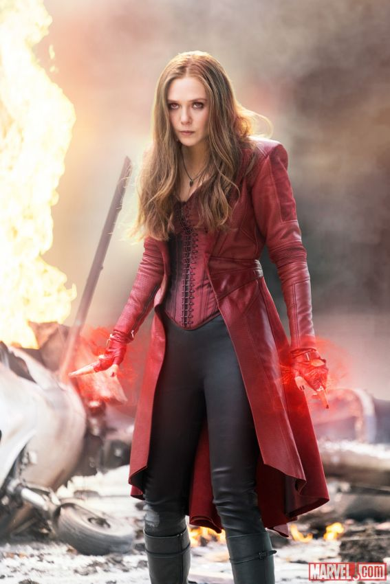 Scarlet Witch powers up