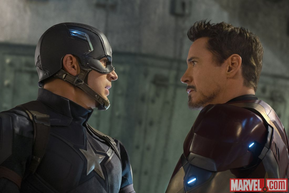 Tony and Steve face off