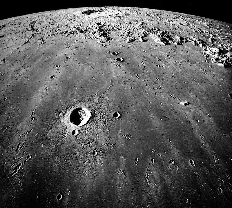 Mare Imbrium (Apollo17, NASA)