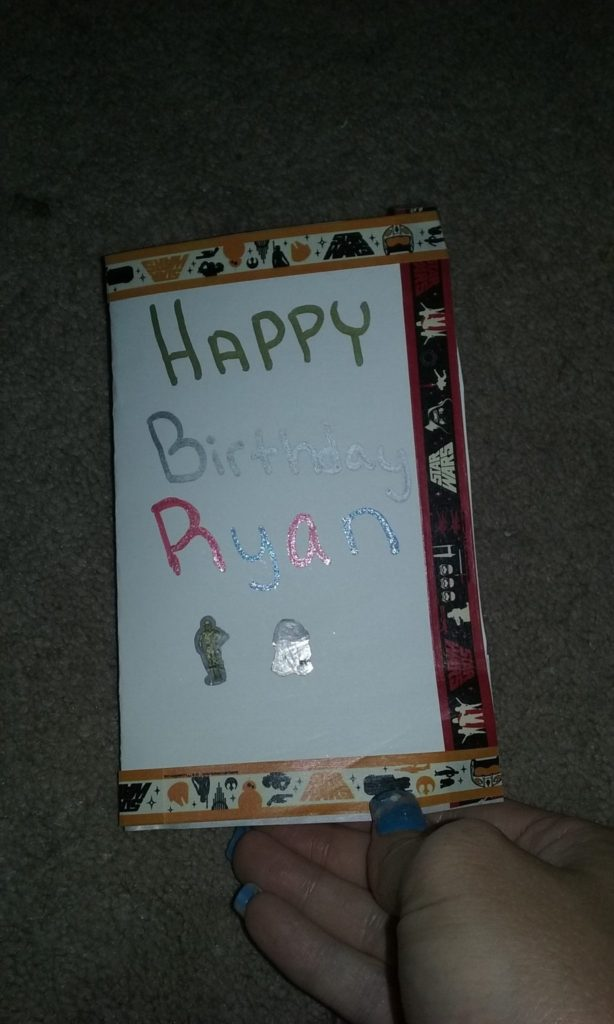 card for Ryan