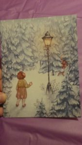December 2016 Owlcrate: Narnia-inspired greeting card by Susanne Draws