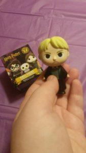 December 2016 Owlcrate: Harry Potter Funko Pop - it's Draco!