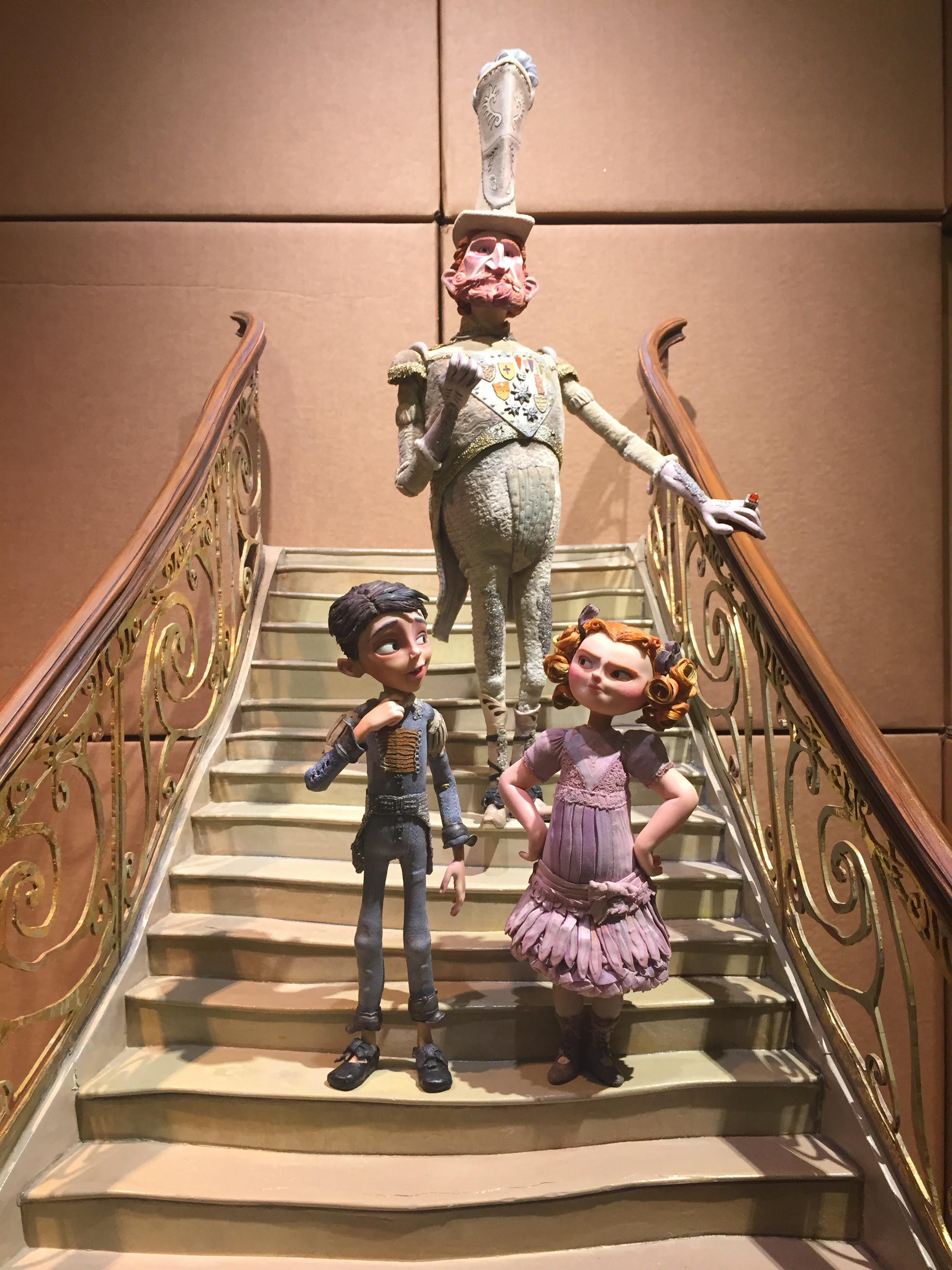 The Box Trolls puppets