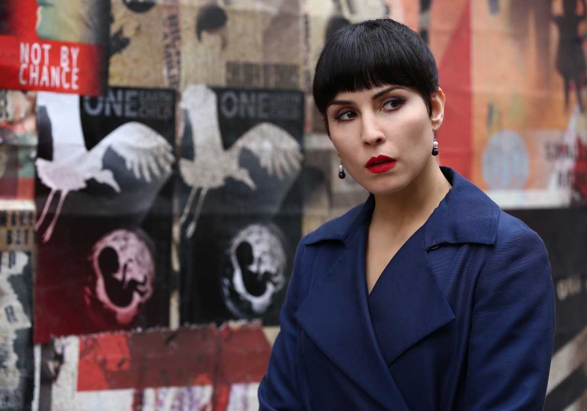 Noomi Rapce in What Happened to Monday; image courtesy of Netflix