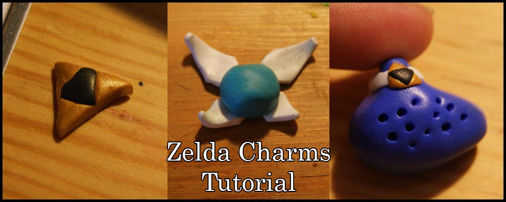 Crafting with Polymer Clay: Simple Zelda Charms