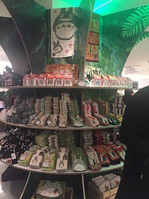 Studio Ghibli Pop Up Shop