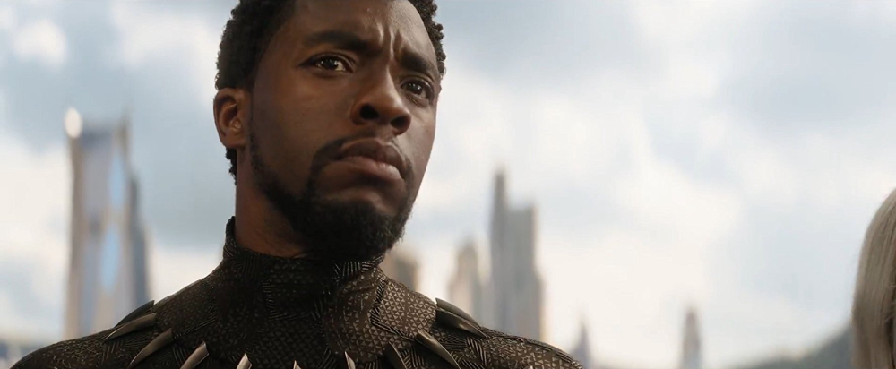 T'Challa, Black Panther, in Avengers: Infinity War