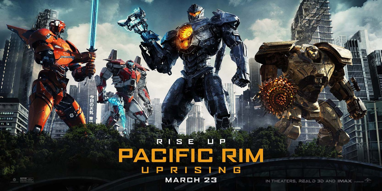 Giveaway – Pacific Rim Uprising