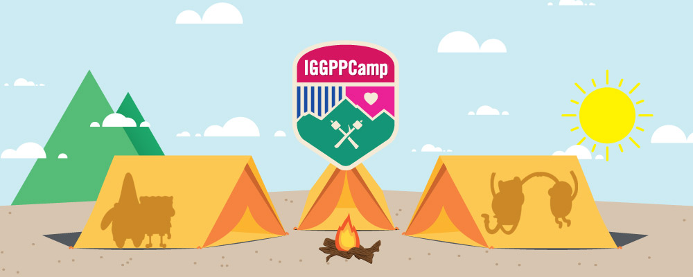IGGPPCamp 2018: Camp Sigil Cross Stitch Project