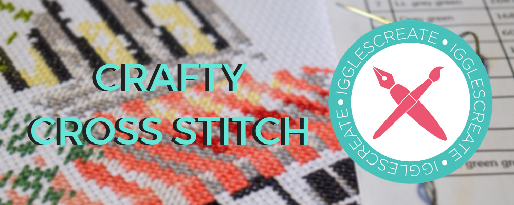 IggleStitch: December Cross Stitch Pattern – Snow!