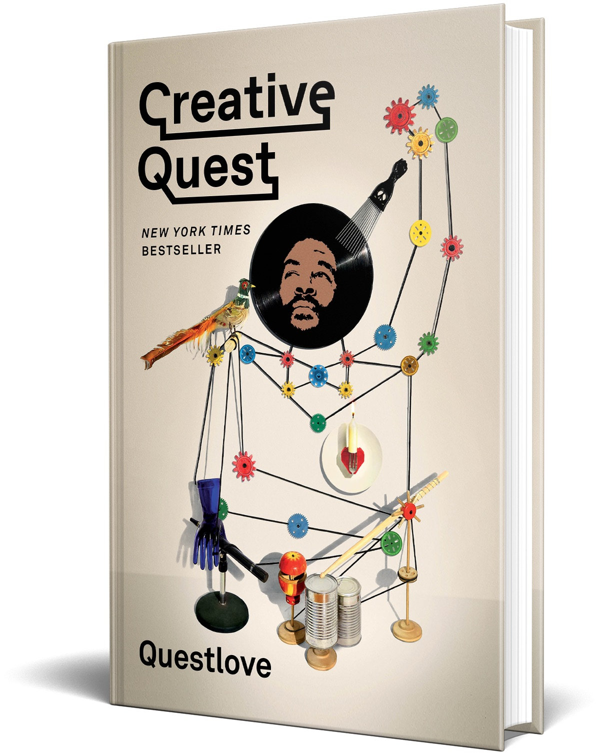 cover of Creative Quest by Questlove