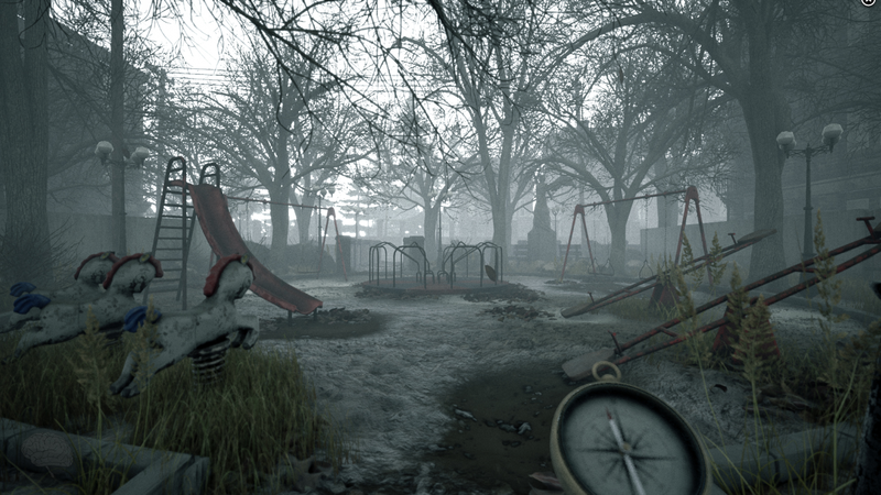 screenshot of visage game