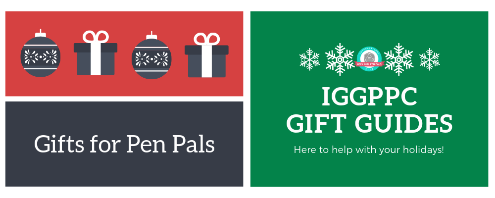 Gift Guides 2018: Pen Pals Edition