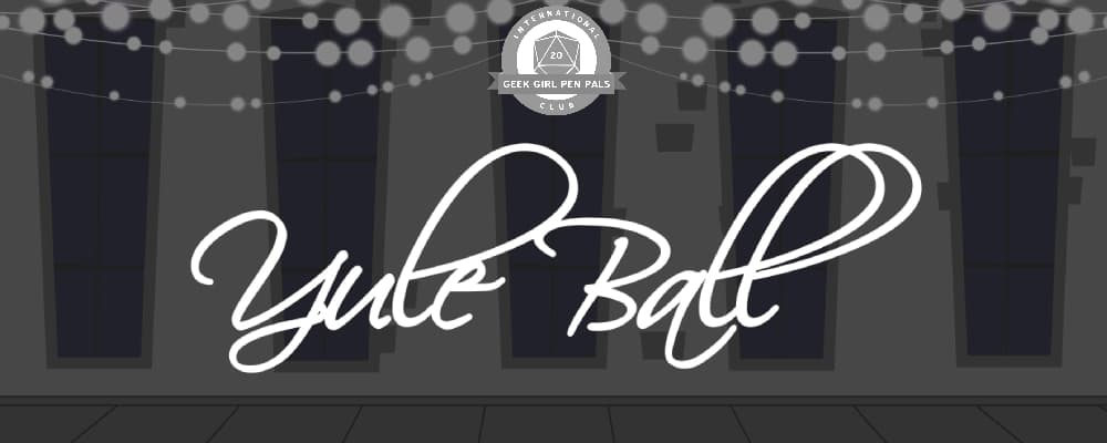 Yule Ball: Roll For Memory Giveaway