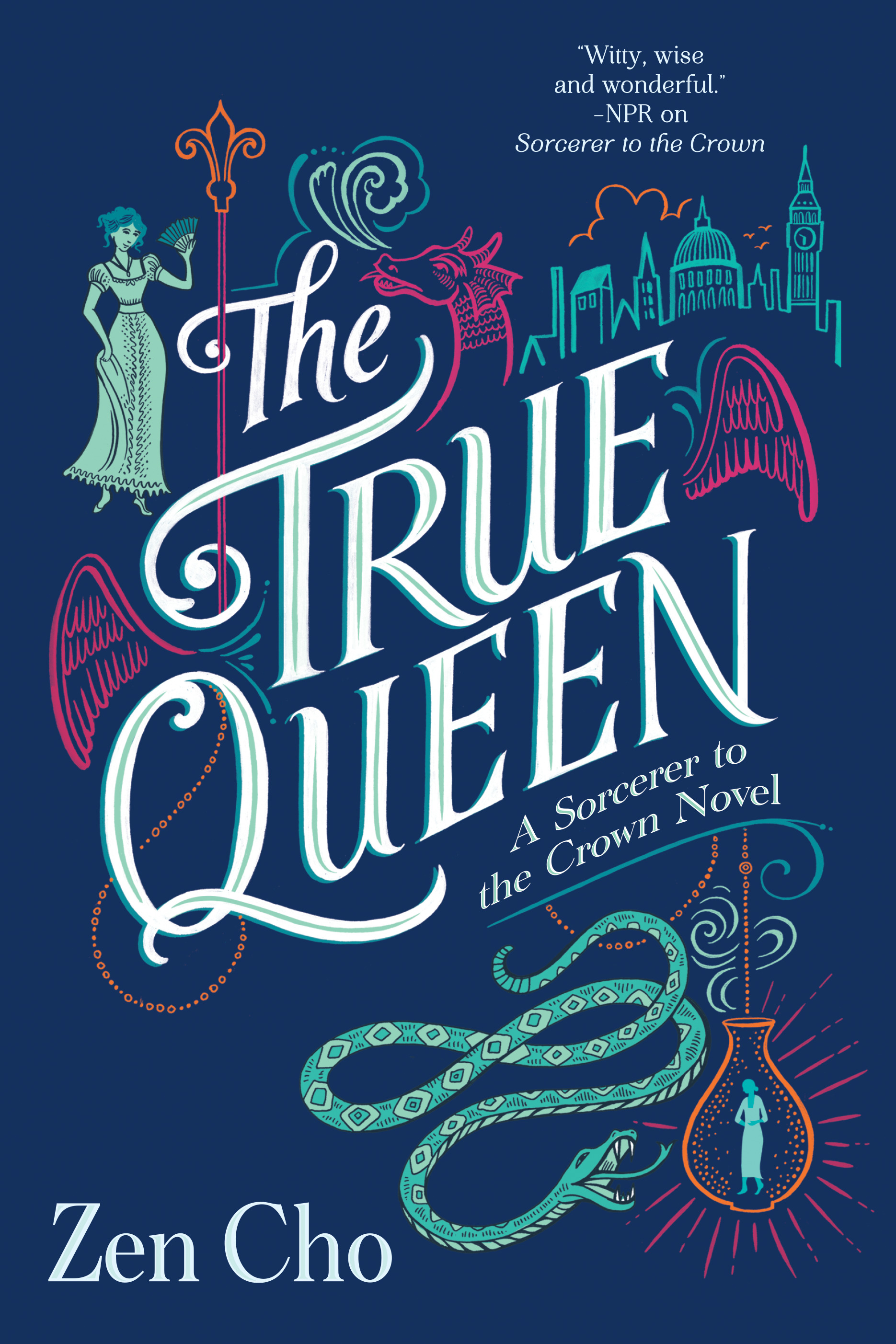 book cover for The True Queen