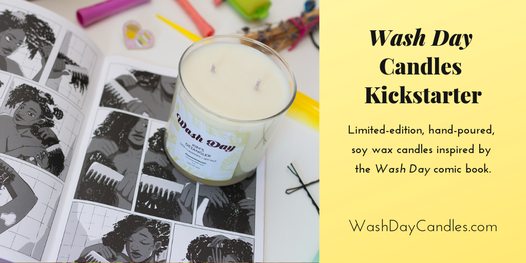 Wash Day Candles Kickstarter