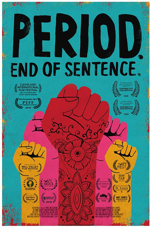 documentary cover for Period. End of Sentence