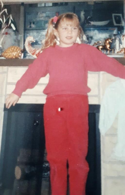 Jen at age 6