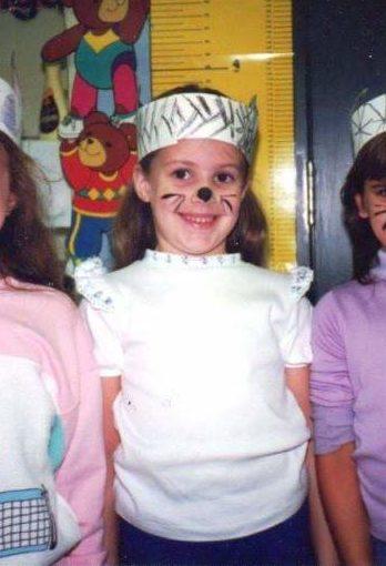 Joanna at age 6