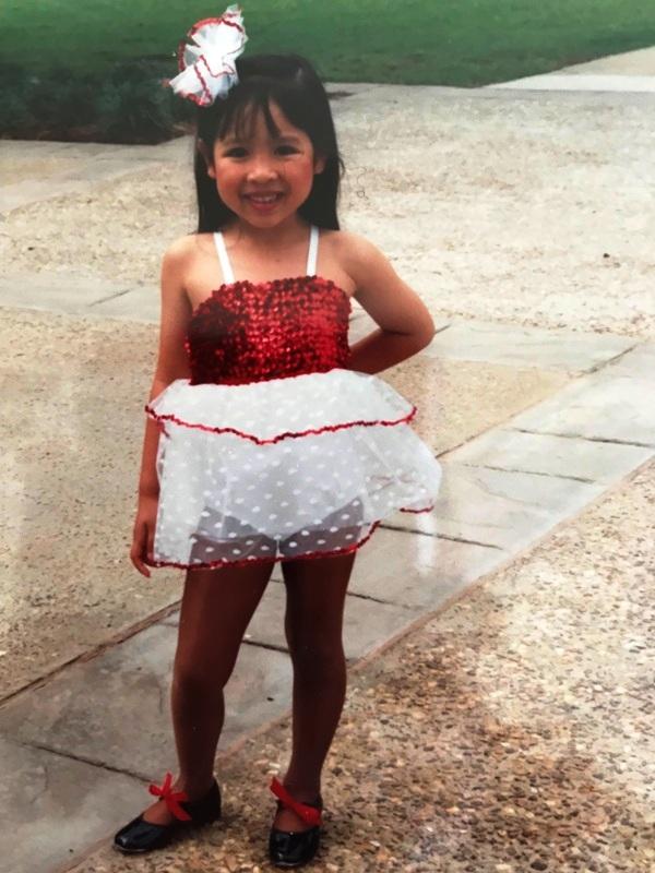 Kara at age 6
