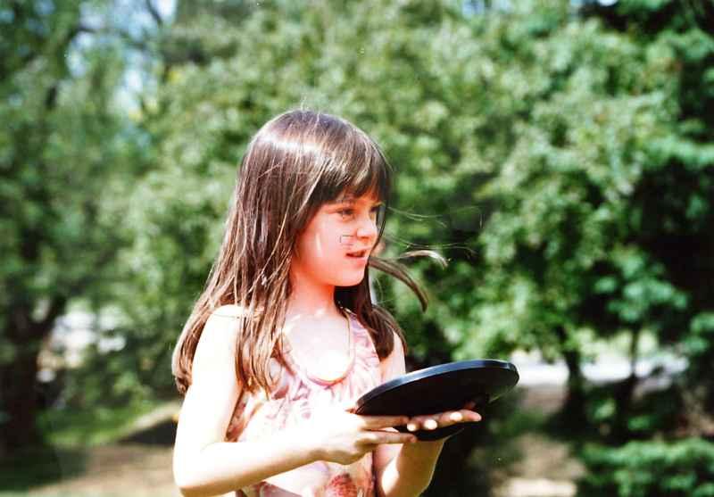 Steena at age 6
