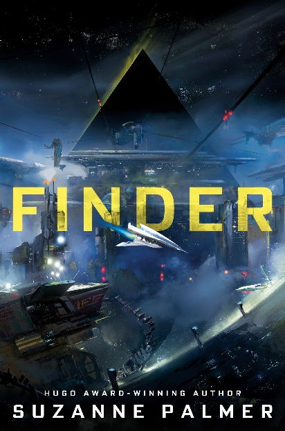 cover of Suzanne Palmer's novel, Finder