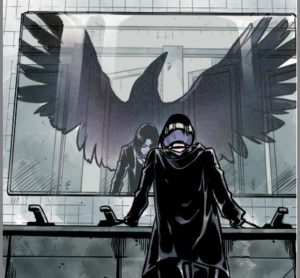 panel from Teen Titans: Raven